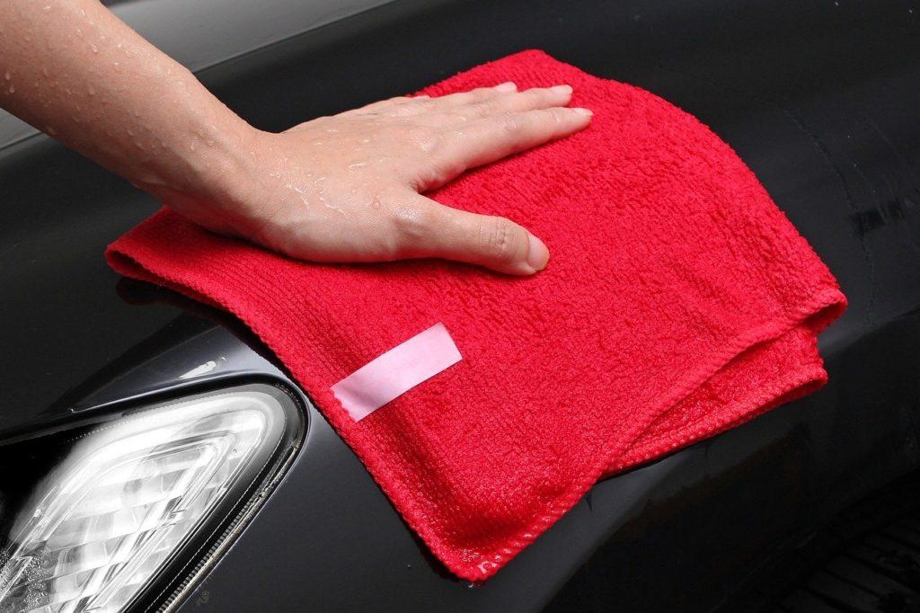 Mikrofaser Tuch Reinigung